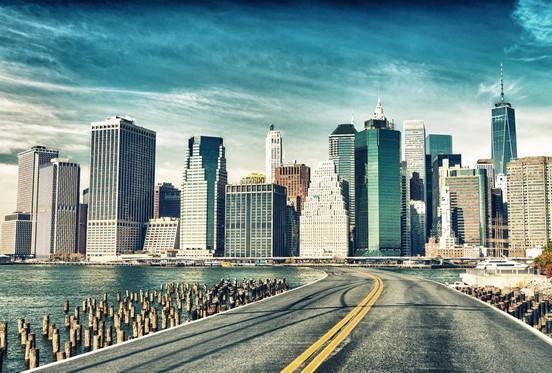 Manhattan roadway